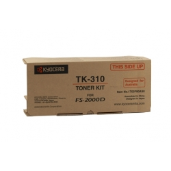 Kyocera FS-2000D / 3900DN / 4000DN Toner Cartridge - 12,000 pages @ 5%