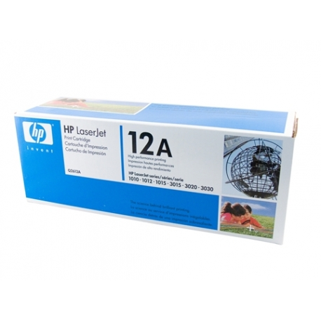HP 12A Toner Cartridge - 2,000 pages