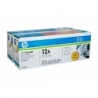 HP 12A Toner Cartridge - 2,000 pages - Dual Pack