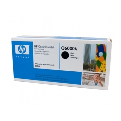 HP 124A Black Toner Cartridge - 2,500 pages