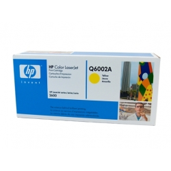 HP 124A Yellow Toner Cartridge - 2,000 pages