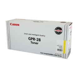 Canon (GPR-28) IRC-1021 Yellow Copier Toner - 6,000 pages
